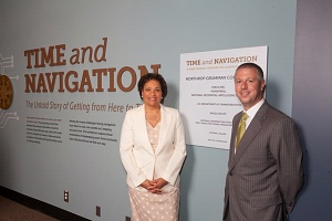 Cheryl Janey and Matthew McQueen of Northrop Grumman Corporation