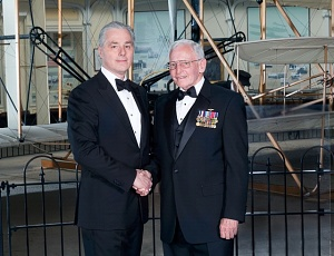 Gen. J.R. Dailey with Bill Flynn of Atlas Air Worldwide