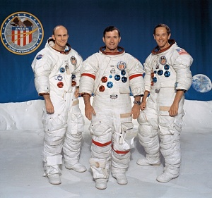 Apollo 16 Astronauts - Mattingly, Young, Duke