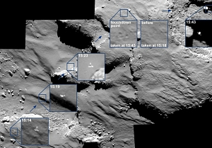 Philae Lands on Comet