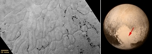 Pluto's Frozen Plains