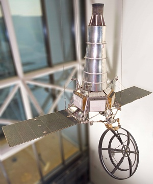 Ranger 7 Lunar Probe replica