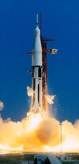 Saturn-IB Launch Test