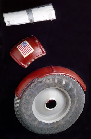 Lunar Roving Vehicle Wheel, Fender