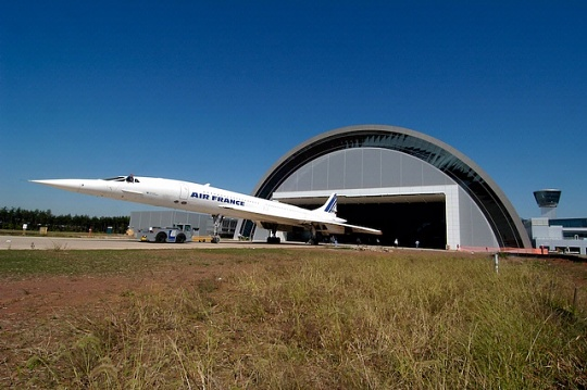 Concorde at Udvar-Hazy Center
