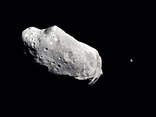 Asteroid Ida and Dactyl