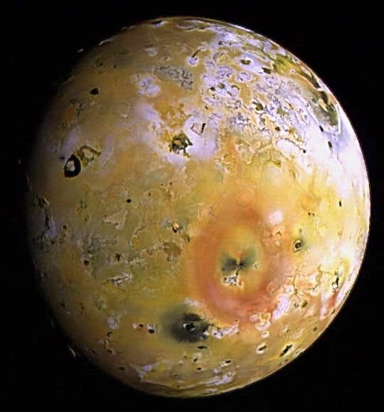 Jupiter - Topography and Volcanoes on Io