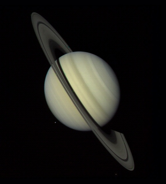 Saturn Approach - Full Disk