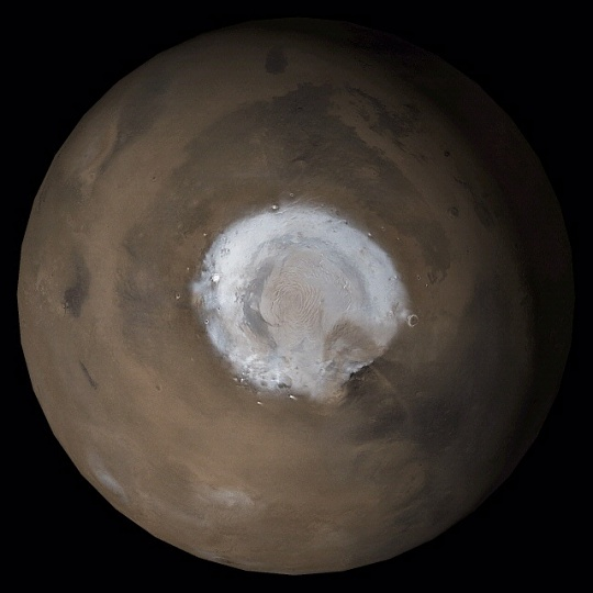 Mars North Polar Region
