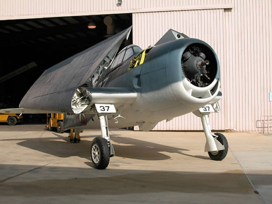 Grumman Hellcat will be at Udvar-Hazy Center
