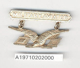 Badge, Military Aviator, REPRODUCTION, United States Army Signal Corps