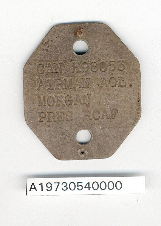 Tag, Identification, Royal Canadian Air Force