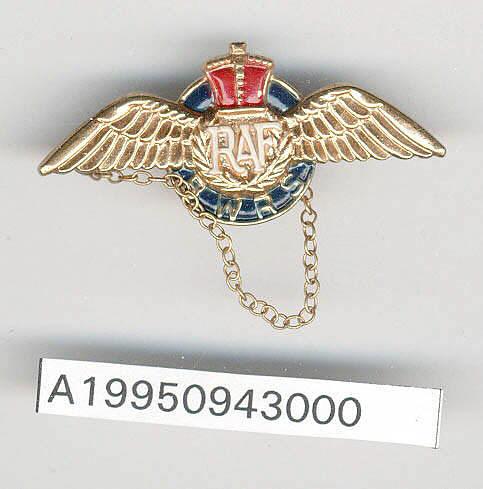 Jewelry, Sweetheart Pin, Royal Air Force