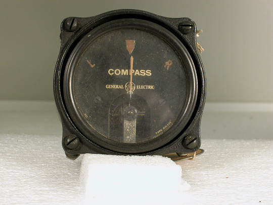 "Indicator, Earth Inductor Compass, DO-145, Lockheed Sirius ""Tingmissartoq"""
