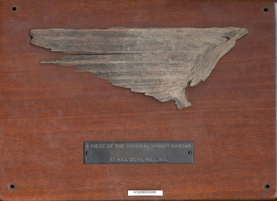 Fragment, Wright Brothers' Hangar