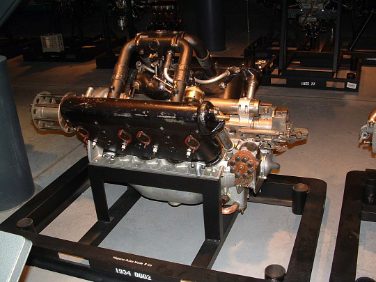Hispano-Suiza Model 8 Ca, V-8 Engine