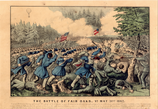 The Battle of Fair Oaks 1862