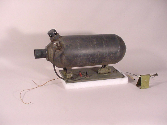 Rocket Motor, Solid Fuel, JATO, 8AS-1000 (Jet-Assisted-Take-Off) Unit