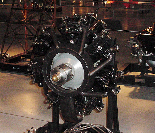 Warner Scarab 110, Radial 7 Engine