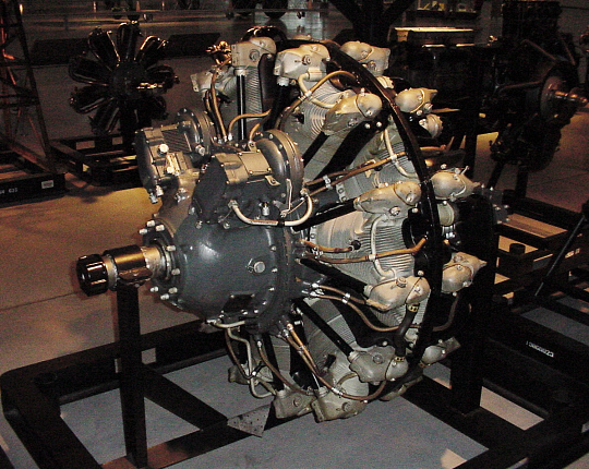 Pratt & Whitney Twin Wasp R-2000 (2SD13-G), 2-Row, Radial Engine