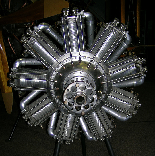 Humber Ltd. (Bentley) B. R. 2, Rotary 9 Engine