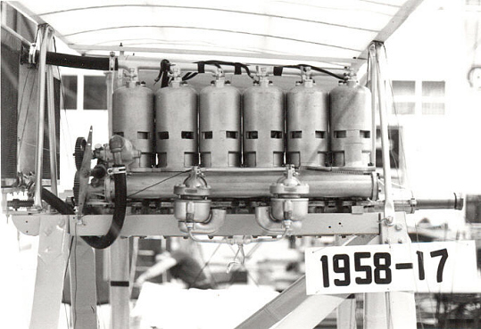 Roberts 6X, In-line 6 Engine