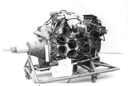 Wright Cyclone R-3350-57, 2-Row, Radial 18 Engine