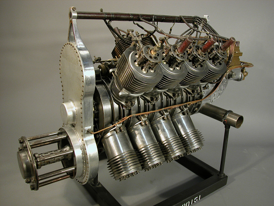 Taft-Peirce (Victor Lougheed) V-8 Engine