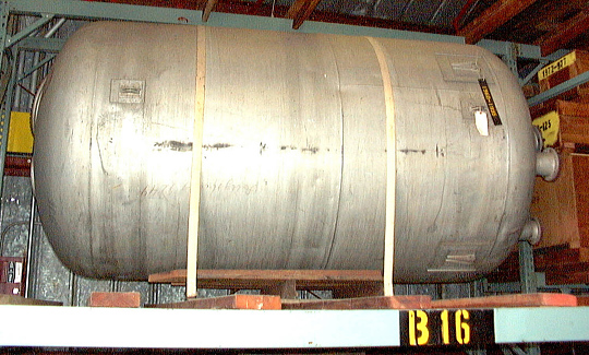 Missile, Surface-to-Surface, V-2, Liquid Oxygen Tank