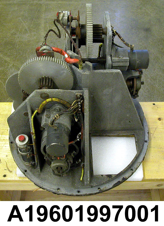 Missile, Surface-to-Air, Rheintochter R I, Servomotor