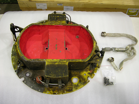 Reentry Capsule, Cover and Screws/Bolts, Satellite, Discoverer XIII