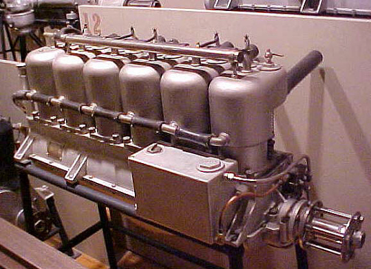 Sturtevant D-6 In-line Engine, In-line 6 Engine