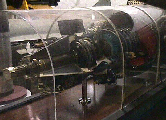 General Electric T31 (TG-100) Turboprop Engine, Cutaway