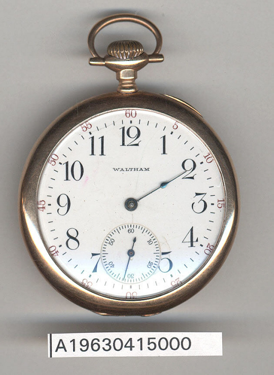 Pocket Watch, James H. Doolittle