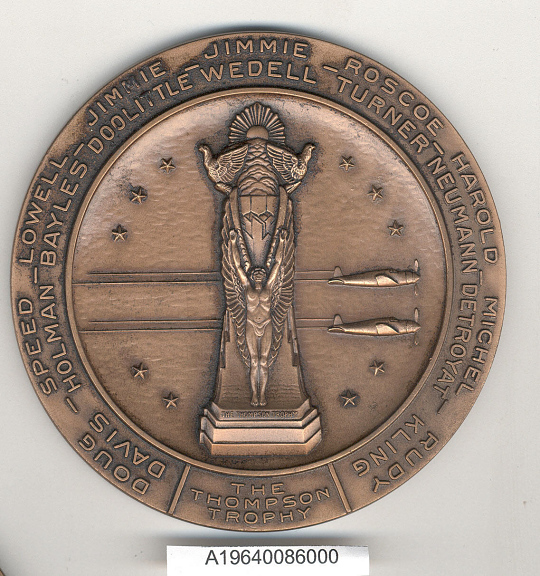 Medal, Commemorative, Thompson Aircraft Co.