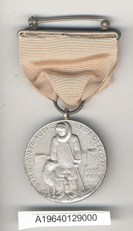 Medal, Byrd 1933-1935 Antartic Expedition Medal