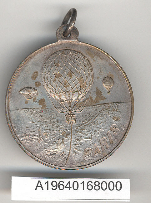 Medal, Louis Godard Balloon Ascent