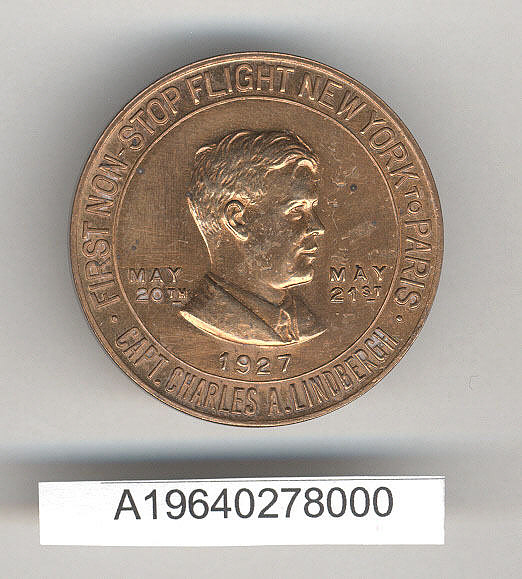 Token, Charles A. Lindbergh