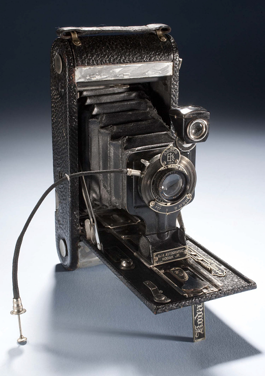 Camera, Kodak, 1A Autographic Junior, Lt. Lowell Smith