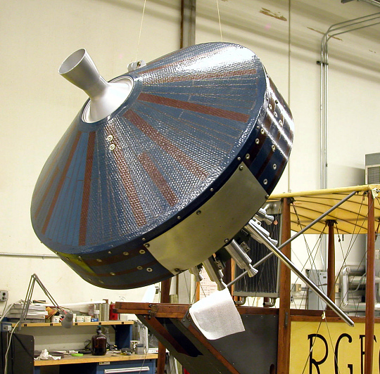 Satellite, Pioneer I, Reconstructed Replica