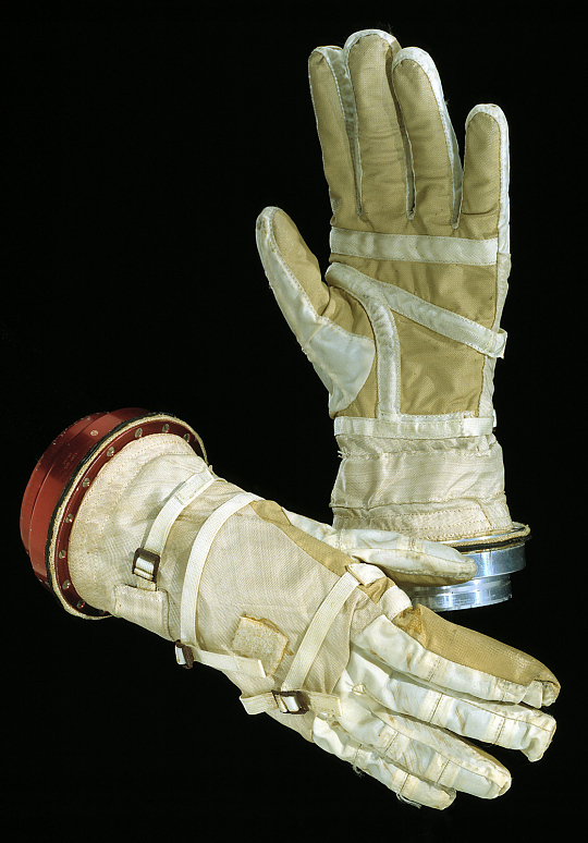 Glove, Left, G5-C, Gemini 7, Borman, Flown