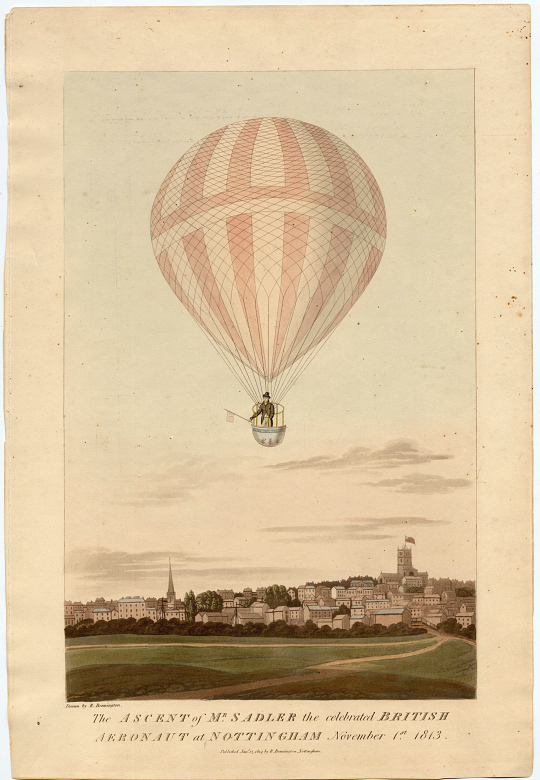 One of Blanchard's Experimental Balloons
