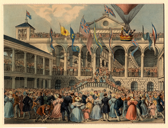 New Hungerford Market, London