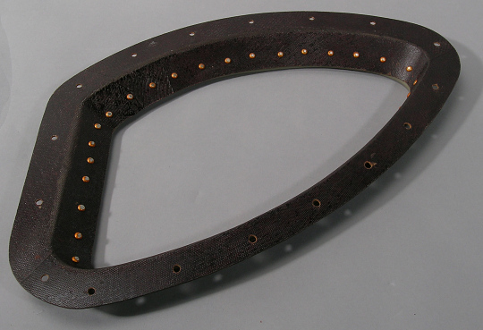 Window Retainer, Right-Hand Inner, Gemini XII