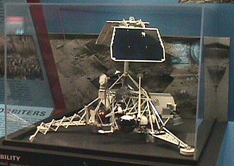 Model, Lunar Lander, Surveyor, 1/5 Scale