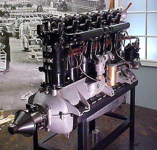 BMW Model IIIA In-line 6 Engine