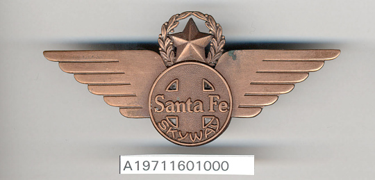 Badge, Chief Pilot, Santa Fe Skyway