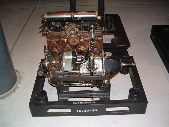 Heath-Henderson B-4 In-line Engine