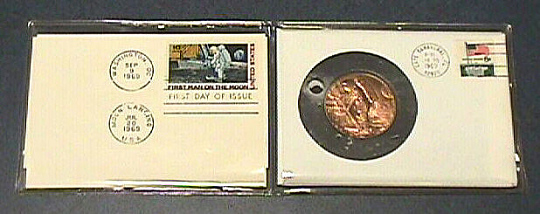 Medal, Commemorative, Apollo 11, Medallic Art Company
