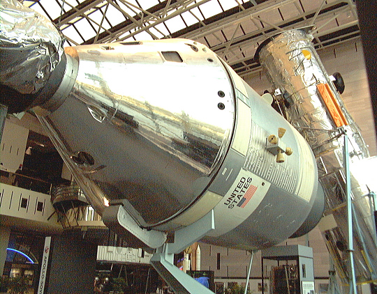 Command and Service Modules, Apollo #105, ASTP Mockup